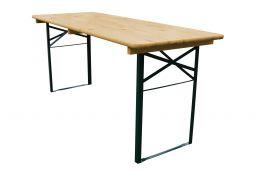 bijzettafel inklapbaar biertafel 180x50