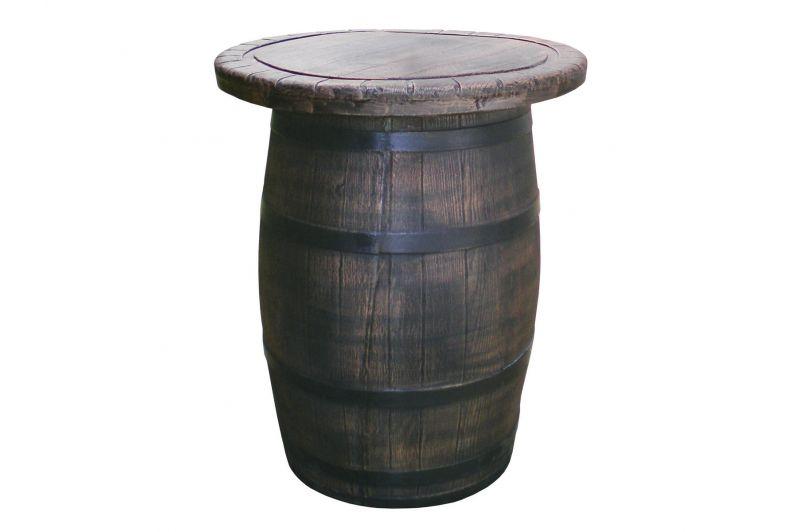Buiten Statafel Met Krukken.Barrel Statafel