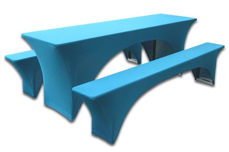 Set van 3 hoezen voor biertafelset 180x60