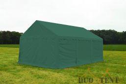 Opslagtent 4x6 Premium brandvertragend PVC - Groen
