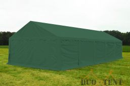 Opslagtent 5x10 Premium brandvertragend PVC - Groen