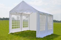 Partytent 3x4 Classic PE - Wit