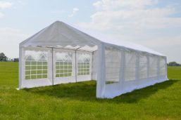 Partytent 5x10 Classic PE - Wit