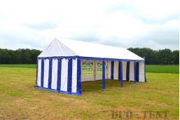 4x8 party tent lange zijkant open