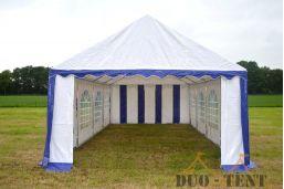 Kopse kant 4 meter voor 4x10 pvc tent met brede oproldeur ritsen
