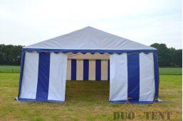 kleine opening pvc tent 5x4