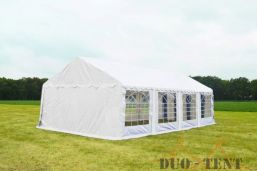 Partytent 5x8 Classic brandvertragend PVC - Wit