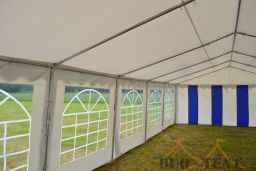 Partytent 5x12 Classic PVC Brandvertragend