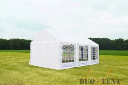 Partytent 6x6 Classic brandvertragend PVC - Wit