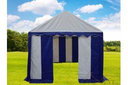 top kwaliteit pvc tent 3x6 premium met grondframe kleine opening
