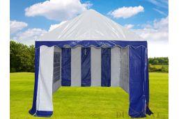 kleine opening pvc 3x6 tent met buizenframe onderlangs 550 gram