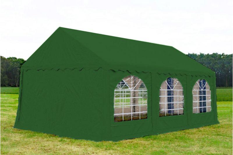 Partytent 4x6 Premium brandvertragend PVC - Groen