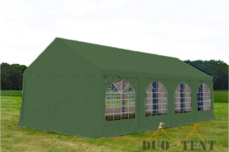 Partytent 4x8 Premium brandvertragend PVC - Groen