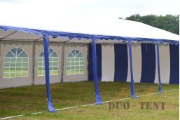 geopende zijwand pvc 5x12 feesttent