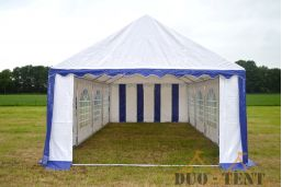 Partytent 4x4 Professional PVC Brandvertragend voorkant