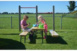 sfeer foto kinder bier bank set - picknick tafel set