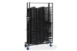stevige kar voor 35 stoelen de luxe met rem en zwenkwielen