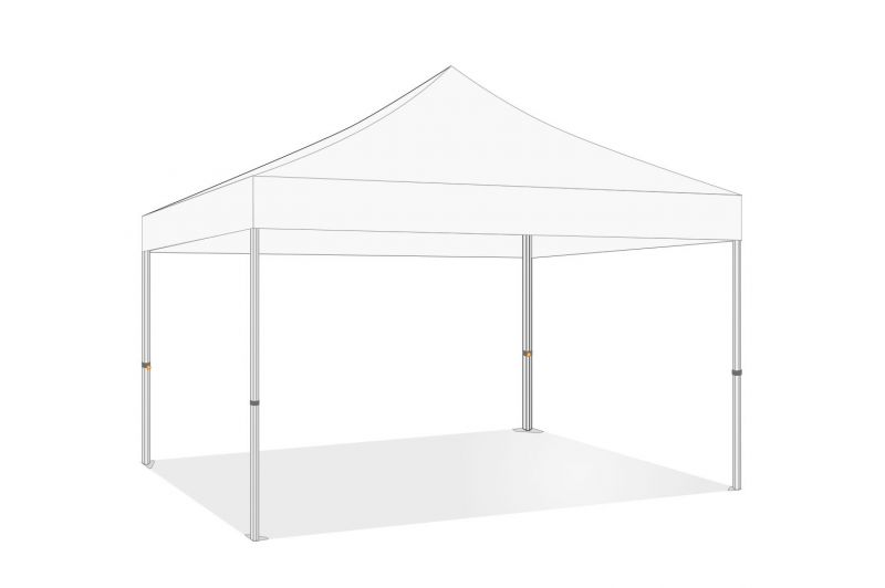 Opvouwbare partytent 3x4| Easy up| PVC