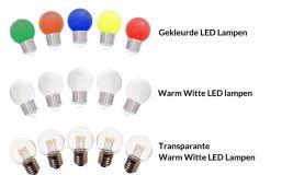 Sfeerverlichting LED Lampen voor prikkabels