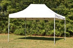 Opvouwbare partytent 3x4,5 | Easy up PVC Professional wit