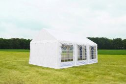 Partytent 3x6 Wit Classic brandvertragend PVC